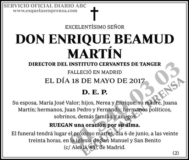 Enrique Beamud Martín